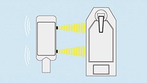 ミリ波レーダー接舷支援システム製品イメージ