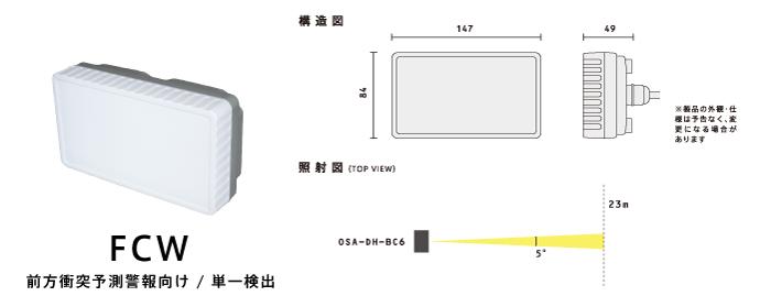 OSA-DH-BC6製品スペック