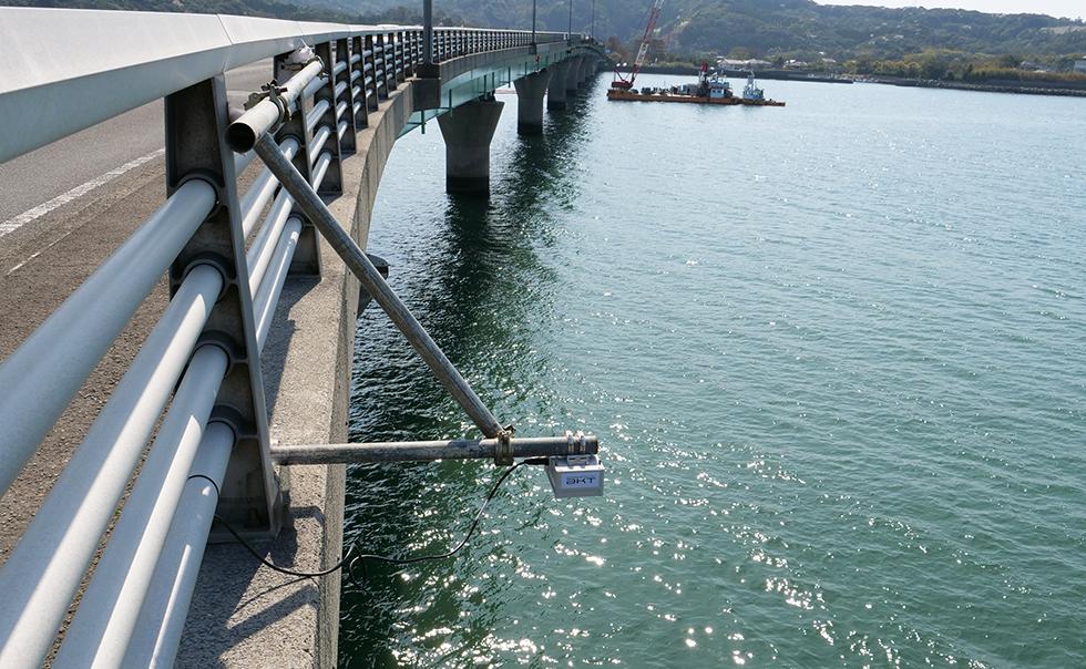 橋梁への取付け例